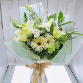Chrysanthemum and Asiatic Bouquet