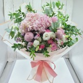 Botany Bouquet with Lisianthus