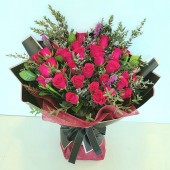30pcs Roses Bouquet (colour at your own choice)