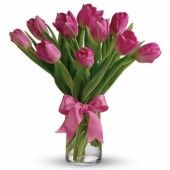 Precious Love Valentine Tulips (Color at Your Choice)