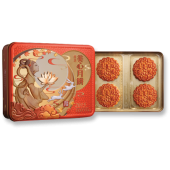 Maxim Yellow Lotus Seed Paste Moon Cake with 2 Egg Yolks