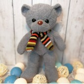Teddy Bear in Grey 10 Inches