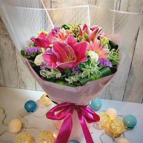 Lily Gerberas Bouquet