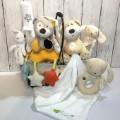 Baby Hamper with Musical Pull