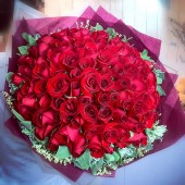 100 Roses 100% Love Will You Marry Me