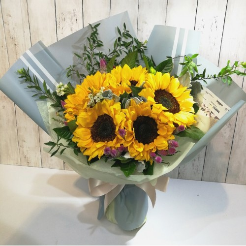 Sun Flowers Mother's Day Bouquet