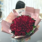 50pcs Roses Valentines Bouquet (Color at Your Choice)