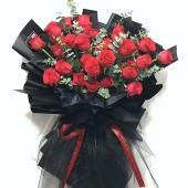 24pcs Rose Valentines Bouquet (Color at Your Choice)