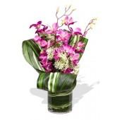 Orchid Bouquet Vase Bouquet