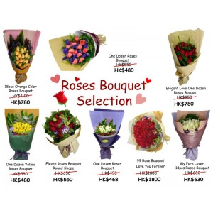 Roses Bouquet Selection