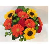 Gerbera Bouquet & Sun Flowers